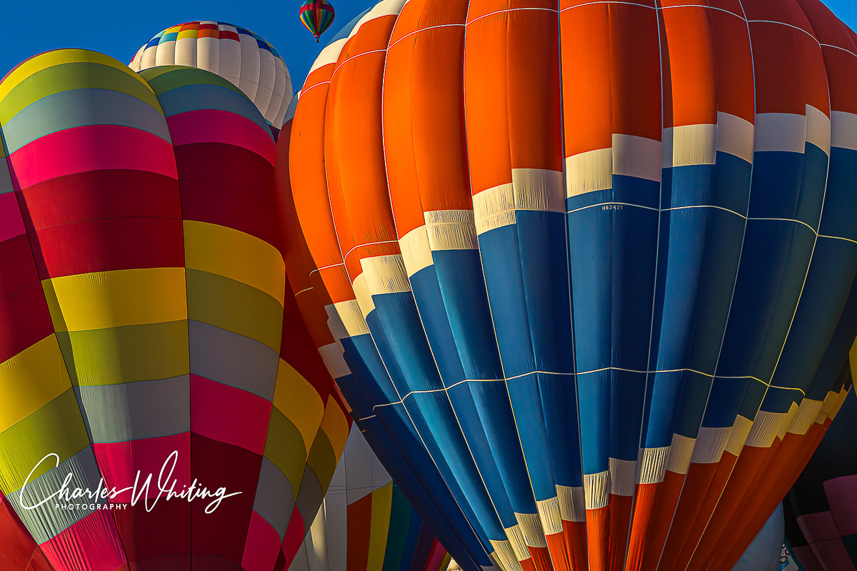 Albuquerque Balloon Fiesta, 2013, Hot Air Balloons, Mass Ascension, New Mexico, photo
