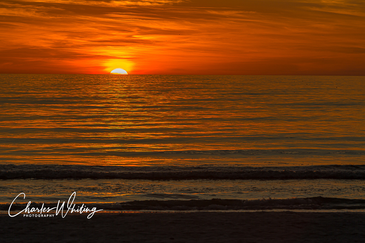Sunset, Siesta Key Beach, Sarasota, Florida, photo