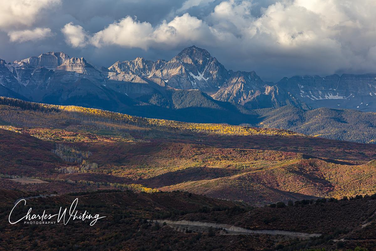 The Sneffels Range from Owl Creek Pass, Colorado