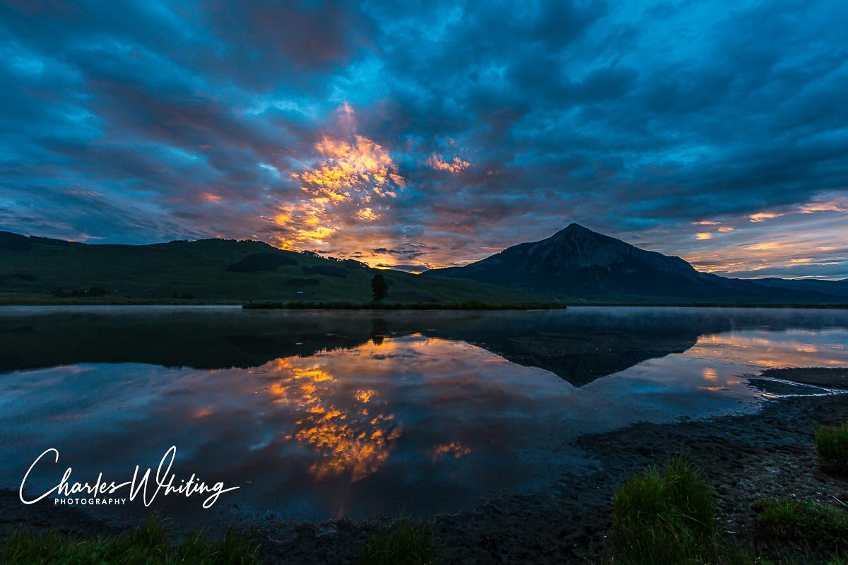Sunrise, Lake Grant, Crested Butte, Colorado, photo