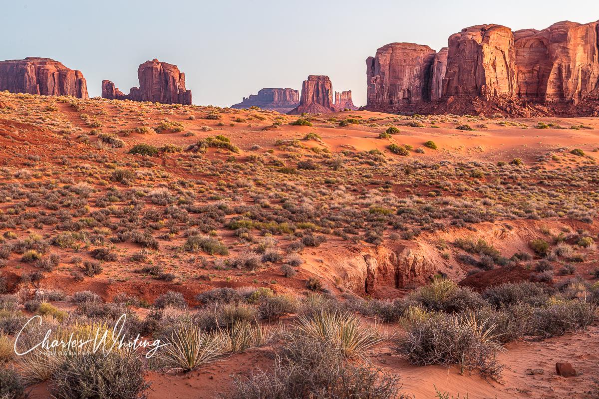 Beautiful buttes grace Thunderbird Mesa