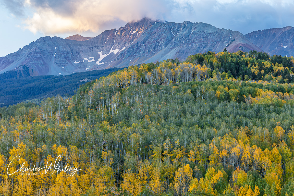 Lizard Head Wilderness, San Juan Mountains, San Miguel County, Sunrise, Uncompahgre National Forest, Wilson Mesa, Wilson Peak, photo